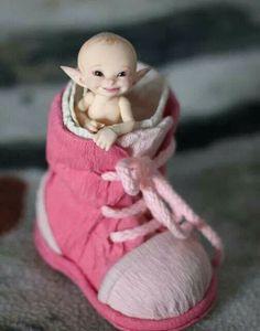 Cute little fairy baby