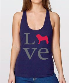 Women's Love Pug Tank Top - Righteous Hound
