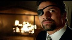 Image result for pics of Manu Bennett as Deathstroke
