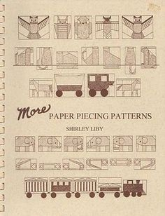 More paper piecing patterns av Shirley Liby
