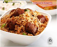 Yummy tasty Biriyani for a perfect Sunday at THALAPPAKATTI RESTAURANT  #DindigulThalappakatti #Thalappkatti #ThalappakattiRestaurant #Food #Biriyani