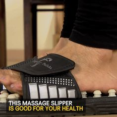 Unisex Massage Slippers Sandal For Men Women Health Slippers Foot Massage pedicure Health shoes foot care Adjustable Slippers Reflexology Sandals, Foot Reflexology, Acupressure Massage, Acupressure Points, Foot Pressure Points, Arthritis, Restless Leg Syndrome, Menopause Symptoms, Heel Pain