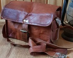 Unique style hand crafted real buffalo leather bags by guntaboutique Vintage Leather Backpack, Brown Leather Backpack, Leather Crossbody, Leather Shoulder Bag, Shoulder Bags, Leather Bags Handmade, Handmade Purses, Backpack Purse, Travel Backpack