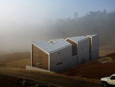 archium slices through the germania home in korea - designboom | architecture