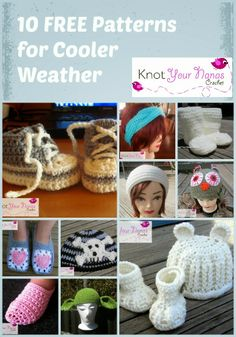 Knot Your Nana's Crochet: Free Crochet Patterns for Winter