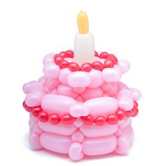 Bday cake..it doesn't show you how to make it but I could learn how to make it...this would be great to put in my daughter's night stand.