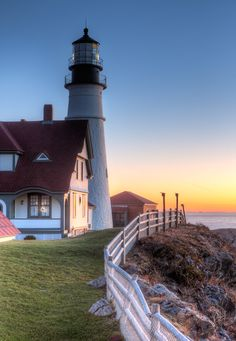 lighthouses HDR