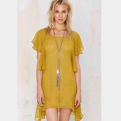 For Love & Lemon Prickly Dress