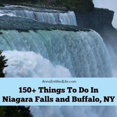 A list of 150+ Things To Do In Niagara Falls and Buffalo, NY that are (mostly) family friendly activities. From state parks to museums, to architecture and zoos, there is a lot to do in Niagara Falls, New York, Buffalo, New York, and all of Western New York. http://www.annsentitledlife.com/newyork/150-things-to-do-in-niagara-falls-and-buffalo-ny/