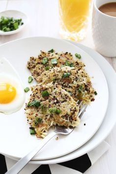 Quinoa Breakfast Hash Browns