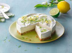 """Philadelphia-Torte """"Lemon & Lime"""", ein sehr leckeres Rezept mit Bild aus der Kategorie Frucht. 9 Bewertungen: Ø 3,6. Tags: Backen, Frucht, Torte"""