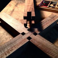 Really love the work on this Aron Music Stand base joint by Taylor Donsker…