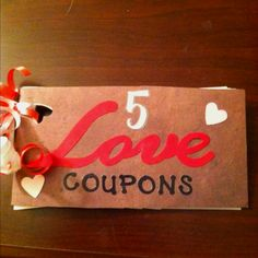 Hubby's valentine gift this year! This and his favorite home made cookies! Great way to save money!