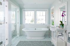 Green Harbor Boathouse - beach-style - Bathroom - Boston - Hutker Architects