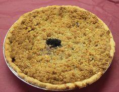 Apple Berry Sour Cream Pie