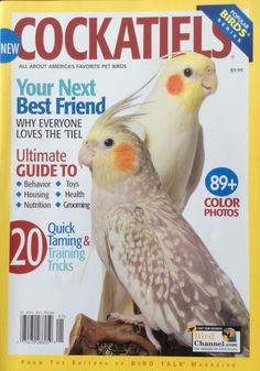 Ultimate Guide to: - Behavior - Housing - Nutrition - Toys - Health - Grooming 20 Quick Taming & Training Tricks. 89+ Color Photos. From The Editors of Bird Talk Magazine. Printed in USA