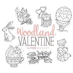 Wald Valentinstag Clipart Set Valentine Skunk Valentine Source by albertinchen Vogel Clipart, Valentines Day Clipart, Valentines Illustration, Owl Clip Art, Animal Doodles, Digital Stamps, Doodle Art, Planner Stickers, Journaling