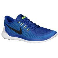 Nike Free 5.0 2015 - Men's - Blue / Light Green