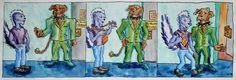 'No Skunks Allowed' von funkyzoo bei artflakes.com als Poster oder Kunstdruck $16.63