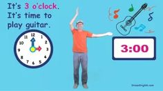 what time is it song for kids - YouTube