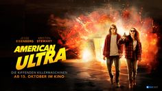 American_Ultra_Poster_Banner_deutsch The Americans, Scream Queens, American Ultra, Movies Worth Watching, Drugs, Banner, Movie Posters, Movie, Penguins Of Madagascar