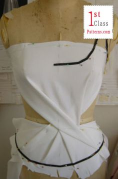 Learn fashion draping course--on-line
