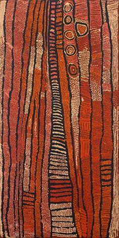Nungurrayi, Naata, Untitled (Rockhole and Soakage Water Site of Marrapinti) Aboriginal Painting, Aboriginal Artists, Indigenous Australian Art, Indigenous Art, Pattern Art, Pattern Design, Print Patterns, Motif Art Deco, Bijoux Design