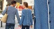 La couleur jeans s'impose cet été. Ce drôle de gilet de forme fluide est boutonné dans le dos. Il est souligné d'une bordure au crochet. Lancez vous dans un modèle pour homme ...