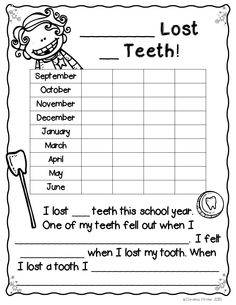 Losing a tooth is such a big deal for our students! If you want to make a BIG deal without making a big deal and losing instructional time, this pack is for you!
