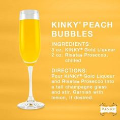 We know exactly what you want {...or need} on this Saturday night. Right!? #KinkyLiqueur