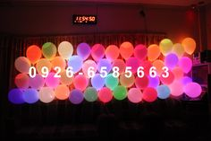 Bolo Neon, Led Balloons, Neon Signs, Day, Posts, Twitter, Ballon Helium, Neon Party, Cake Toppers