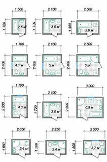 Bathroom Layout Plans, Small Bathroom Layout, Bathroom Floor Plans, Small House Interior Design, Bathroom Interior Design, Interior Decorating, Small Bathroom Dimensions, Piscina Diy, Tiny House Bathtub
