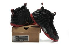 foamposites 2012 new shoes Air Foamposite One LE NRG Penny Hardaway black varsity red 314996 501