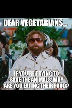 Dear Vegetarians....