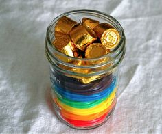 Pot of Gold Centerpieces
