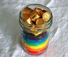 Pot of Gold Centerpieces