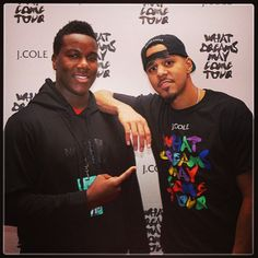 my son K and J. J Cole that is 9/21/13