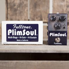 Fulltone Plimsoul   Pedals and Effects Available at Garrett Park Guitars   www.gpguitars.com
