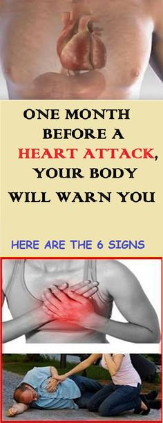 One Month Before A Heart Attack, Your Body Will Warn You – Here Are The 6 Sigs