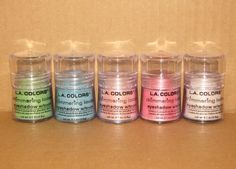 L.A. Colors Eyeshadow | LA Colors Shimmering Loose Eyeshadow in Spring Fling, Tropical, Fairy ...