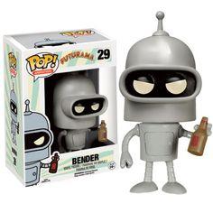 Futurama Pop! Vinyl Figure - Bender : Forbidden Planet