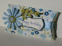 Another cute pillow box