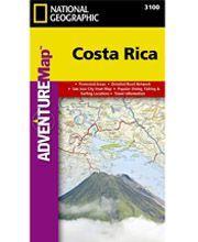 Acheter votre carte de la route du Costa Rica - Maps Costa Rica