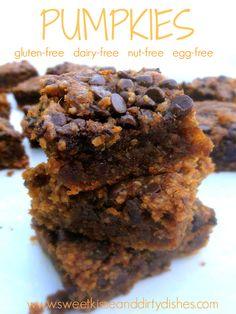 Pumpkies-- Dairy Free, Gluten Free, Nut Free, Soy Free, Egg Free