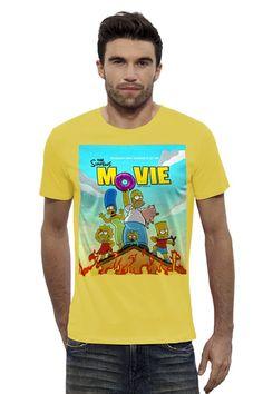 "Футболка Stanley Leads ""Simpsons / Симпсоны"" от KinoArt - Printio"
