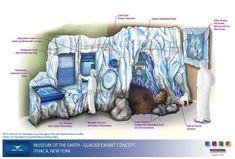 Discovery Trail: News & Events Calendar glacier exhibit concept
