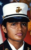 Marine Lance Cpl. Juana Navarro-Arellano  Died April 8, 2006 Serving During Operation Iraqi Freedom  24, of Ceres, Calif.; assigned to 9th Engineer Support Battalion, 3rd Marine Logistics Group, III Marine Expeditionary Force, Okinawa, Japan; died April 8 from wounds received while supporting combat operations in Anbar province, Iraq.
