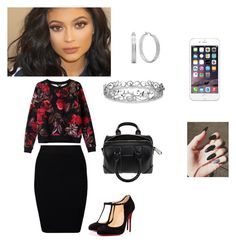 """Untitled #24"" by trinityreese16 on Polyvore featuring Monki, Just Female, Christian Louboutin, HMY Jewelry, Effy Jewelry, Givenchy, women's clothing, women's fashion, women and female"