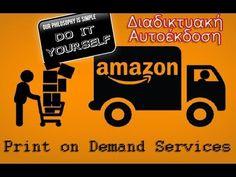 Πως να αυτοεκδώσω δωρεάν το βιβλίο μου στην Amazon με Εκτύπωση κατά Παρα... Amazon Gifts, Sell On Amazon, Get Started, You Got This, Books, Cards, Kindle, Image, Libros