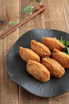 Inari Sushi: Japanese Rice stuffed Deep-fried Tofu (Vegan Friendly)     |     Organize your favourite recipes on your iPhone or iPad with @RecipeTin! Find out more here: www.recipetinapp.com      #recipes #vegan